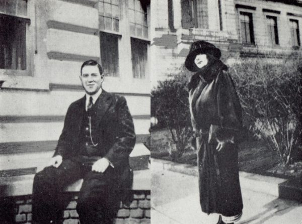 Howard Phillips Lovecraft und Sonia Haft Greene