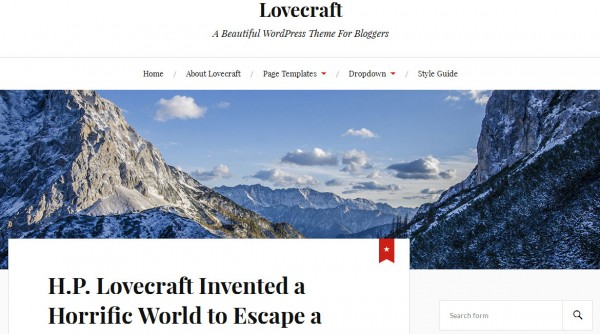 lovecraft-wordpress-theme-screenshot
