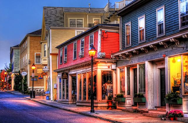 Marbelhead MA - Washington Street. Foto:  Daniel Mennerich. CC BY-NC-ND 2.0