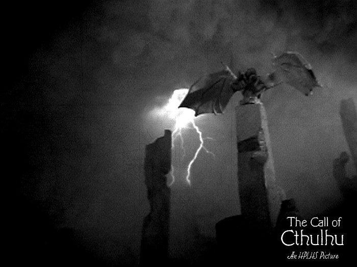 "Still from the HPLS Lovecraft motion picture ""The Call Of Cthulhu""."