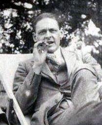 Der Schriftsteller T. S. Eliot 1923