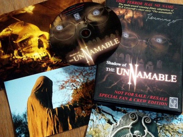 Shadow of the unnamable DVD + Promo Material