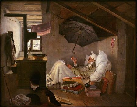 Carl Spitzweg: Der arme Poet