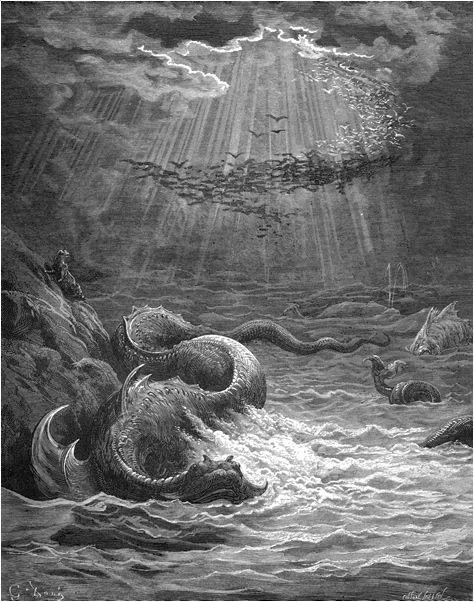 Illustration von Gustav Doré zu Miltons Paradise Lost