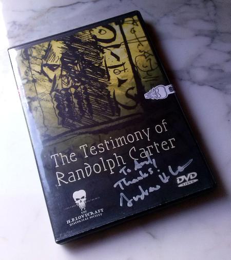 DVD The Testimony of Randolph Carter