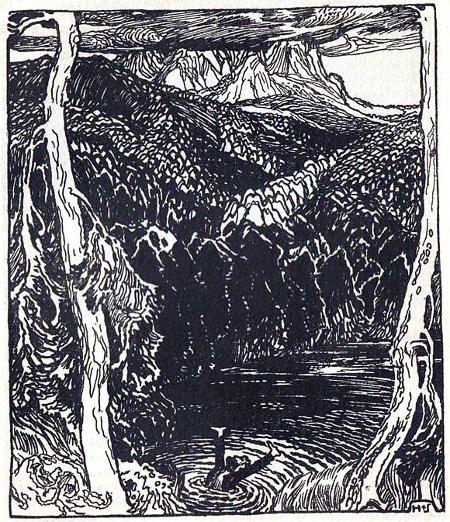 sumpf-see The Moon-Bog