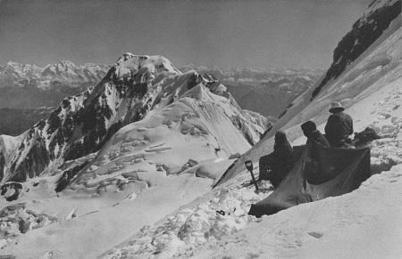 Blick zum Chongra Peak
