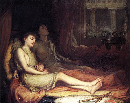 Waterhouse: Schlaf und sein Halbbruder Tod (1874)