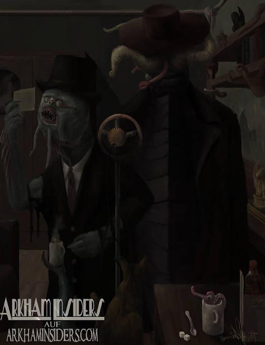 Arkham Insiders Gemälde
