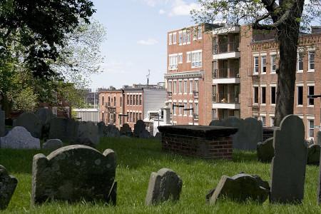 Der Copp's Hill Burying Ground